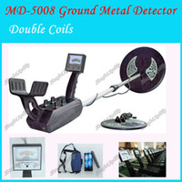 Wholesale MD5008 Under ground metal detector gold detector Big coil and small coil