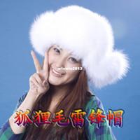 Wholesale New arrival fox fur hat Women fur hat fox fur hat women s winter
