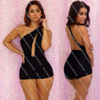 Casual Dresses Strapless A Line dresses New Fashion 2013 Sexy Jumpsuit Black Overalls for Women Hollow Out Bodysuit Backless Elegant Jumpsuits FREE SHIPPING 5562