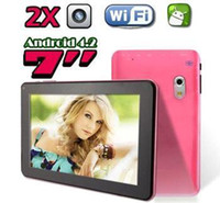 android video chat - New Q88 Pro Inch A23 Dual Core Tablet PC With Android OS MB RAM GB Allwinner A23 Ghz Dual Camera WIFI MID Video Chat