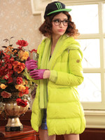 Wholesale Cute Duck Feather Down Jacket women winter coats long u5 ycV