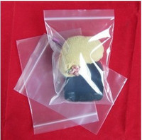 Wholesale cm cm cm cm Clear Resealable Plastic Bags PE Zip Lock Bags Food Storage Bags Jewelry Rings Earrings Bags