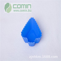 Wholesale Large supply of silicone cake mold cm small tree Muffin cup jelly pudding mold Soap