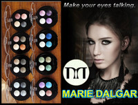 4 colors baking powder - Marie Dalgar Baked Powder Magic Dream Quad Eye Shadow Colours Eyeshadows
