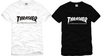 Wholesale new sale retail kids t shirt thrasher t shirts thrasher printed tops hiphop tshirt baby tshirt for children cotton