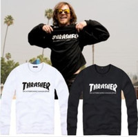 best quality sweatshirts - Cotton thrasher pullover thrasher printed sweatshirt Jumper Sweatshirt Best quality factory price color