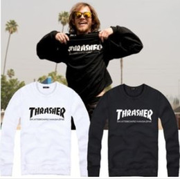Wholesale Cotton thrasher pullover thrasher printed sweatshirt Jumper Sweatshirt Best quality factory price color