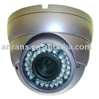 Yes Infrared Video Camera High Resolution Security Dome CCTV Camera Sony 600TVL CCD Full HD Performance 4-9MM Lens
