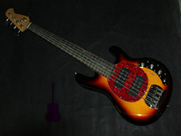 Wholesale EMS highest quality Luxury strings bass music sting Ray electric bass guitar