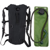 Wholesale 3L TPU Hydratiotem Bladder Backpack Water Bag Pouch Hiking Climbing Freeshipping dropshipping