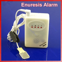 Cheap 3 in 1 Adult Baby Bedwetting Enuresis Urine Bed Wetting Alarm +Sensor With Clamp Free shipping