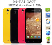 Wholesale Octa Core thin Phone Mpai T MTK6592 GHZ Octa Core GB GB MP MP Camera FHD x1920 Screen Black White Red Yellow