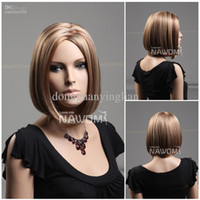 Wholesale hot bob wigs synthetic women hair wigs makers high qulity natural hair wig wigs short hair
