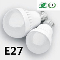 Wholesale E27 Globe Bulbs Lights W W W W SMD LED Light Bulbs Warm Pure White Super Bright Light Bulb Energy saving Light Lamp Sale
