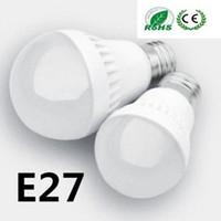 Wholesale Hot LED Bulbs E27 Globe Bulbs Lights W W W W SMD LED Light Bulbs Warm Pure White Super Bright Light Bulb Energy saving Light Lamp