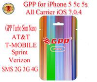 Wholesale GPP C S Turbo Nano Sim Nano R SIM RSIM For iPhone iOS7 IOS X CDMA GSM AT amp T T MOBILE Sprint Verizon NETELL DIGITEL ROGERS