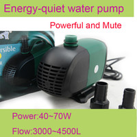 Cheap SOBO WP-4000S 220V 55W 3500L H aquarium fish tank Submersible air water pump pond fountain filter free shipping