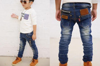 Wholesale new children s clothing boys wild baby jeans children trousers new Korean version