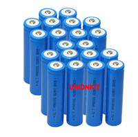Cheap new 25 Piece 18650 Led Flashlights Torch Rechargeable lithium Batteries 5000 mah 3.7v