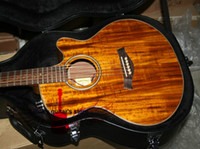 Wholesale Custom K24CE Acoustic Electric Guitar In Stock with case New Arrival