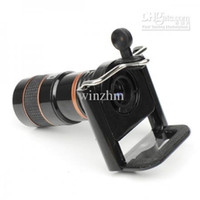 Wholesale new Optical Lens Telescope x Zoom universal holder For Camera Mobile Cell Phone