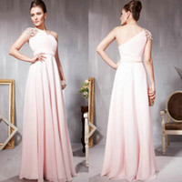 Customer Made 2014 Alluring One- Shoulder Beading Prom Dresse...