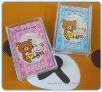 Wholesale 24Cards Delicate Packing Kawaii Rilakkuma Bear Mixs Playing Cards Cartoon Rilakkuma Bear Playing Poker Gambling Cards Pokers