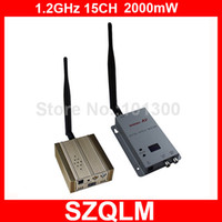 Wholesale 1 GHz mW long range wireless video transmitter and receiver