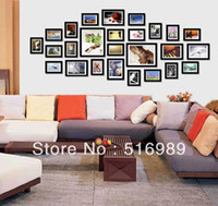 Cheap 26PCS Home Decor Fashion new beautiful wood picture photo frame cwe618ger