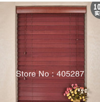 Wholesale 50 mm REAL WOOD BLINDS MADE TO MEASURE curtain blinds