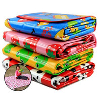 Wholesale Brand New Outdoor essential Beach mats Picnic mat Baby Crawling Maps Children s Game blanket