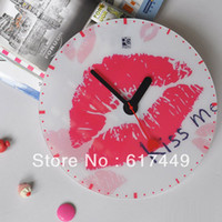 Mechanical Wall Clocks Yes Fashionable And Elegant Large Round Acryl Wall Clock Ultra-Quiet Scanning Movement Gift Clock
