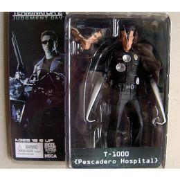 "NECA The Terminator 2 Action Figure T-1000 Pescadero Hospital Figure Toy 7""18cm"
