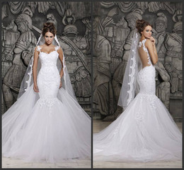 Wholesale Backless Mermaid Wedding Dress - Buy Cheap Backless ...