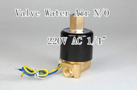 Wholesale Details about Electric Solenoid Valve Water Air N O V AC quot Normally Open Type