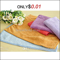 Wholesale Promotion pc cm quot quot New Absorbent Fiber Households Car Kitchen Cleaning Home Quick Dry Cheap Microfiber Towels
