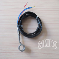 Wholesale Hot Runner Coil Heater I D quot Height quot V250W with Black Flexible Silicone Sleeve