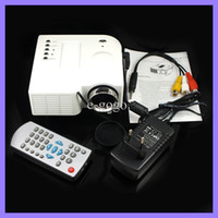 Wholesale Mini HD LED Projector quot Cinema Theater UC28 LED Digital Video Game Projector LCD Display Digital Home Cinema