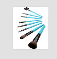 8 PCS Purse Makeup Make UP Brush Set Cosmetic Women Purse Ma...