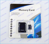 Wholesale 32GB Micro sd card Class memory card SDHC Cards with Adapter For mobile phone micro SD card retail package