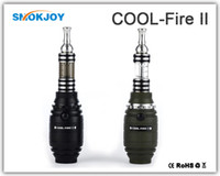 Best Hot selling nice design new innokin itaste cool fire 2 e cig kit cool fire II