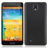 Star 5.7 Android Unlocked Note 3 N9000 5.7 Inch Quad Core Smartphone MTK6582 1.3Ghz Android 4.2 Air Gesture 3G Dual Sim Mobile Phone N8000 With Flip Case