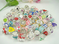 Wholesale 100pcs mixed Floating Charm for Floating Charm Locket mixed color loose beads DIY jewelry