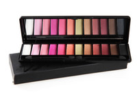 2014 New high quality 12 colors palette eyeshadow with 2 bru...