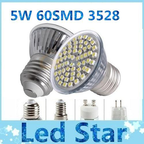 gu10 5w led lights e27 e14 mr16 60 smd 3528 led bulbs lights 400 lumens warm cool white led. Black Bedroom Furniture Sets. Home Design Ideas