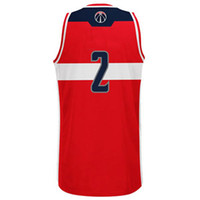 Wholesale Washington John Wall Wizards Basketball Jerseys Revolution Swingman Road Jersey New Arrive Athletic Apparel Well Embroidery Logos