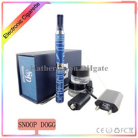 Wholesale Snoop Dogg Micro G Pen Blue Wax Herbal Dry Herb Atomizer from Grenco Science LBC Dry Herb Vaporizer Pen Vapor E Cigarettes Kits Good Quality