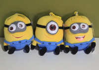 china dolls - Despicable Me minions cm Soft Plush Toys dolls keychain Pendant Styles Made in China