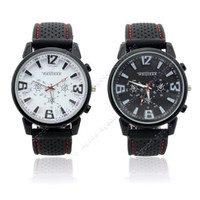 Wholesale Metallic Case Army Racing Silicone Soft Rubber Smart Men Boys Sports Watch Colors