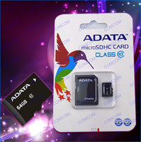 Wholesale Adata GB Micro sd Card With Adapter retail Packaging